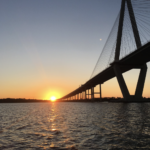 Another beautiful sunset as seen from the DI Ferry